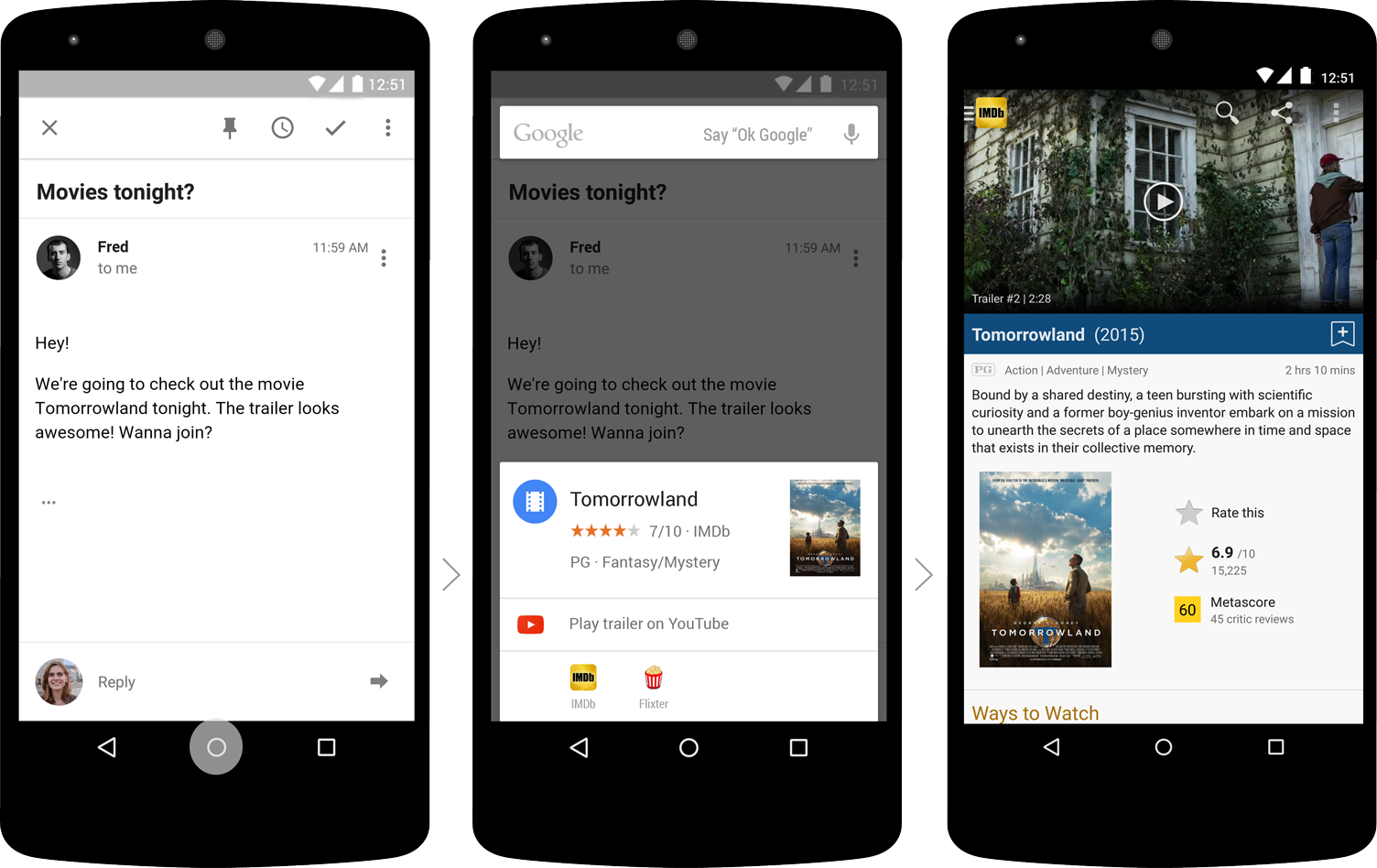 Phone Tap Android Phone io 2015 google now on tap for android m will help you get quick tomorrowland final