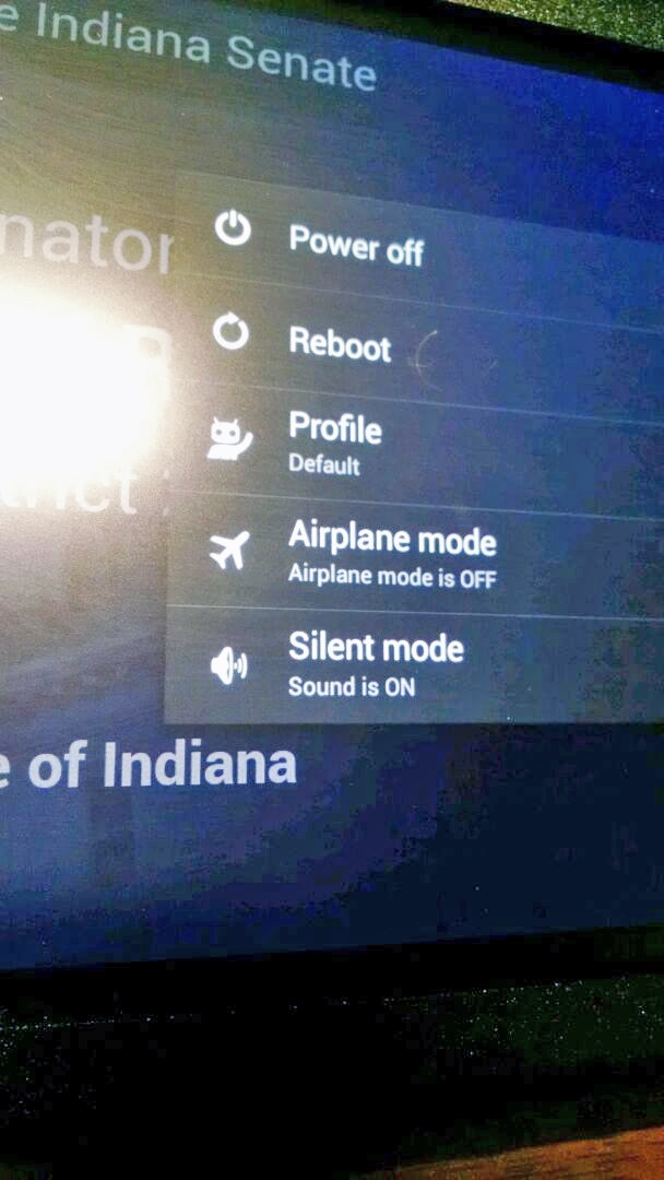 The Indiana State Congress Uses A Collection Of Nexus 7s And