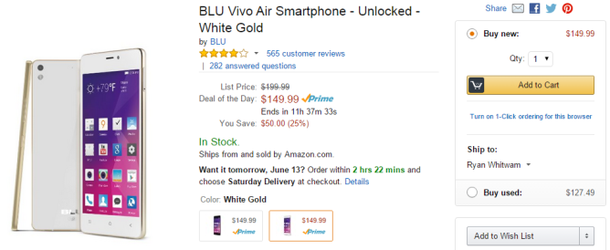 2015-06-12 14_22_26-Amazon.com_ BLU Vivo Air Smartphone - Unlocked - White Gold_ Cell Phones & Acces