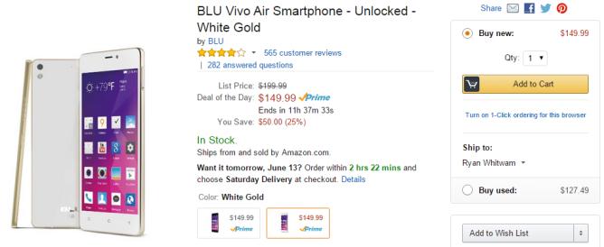 2015-06-12 14_22_26-Amazon.com_ BLU Vivo Air Smartphone - Unlocked - White Gold_ Cell Phones & Acces