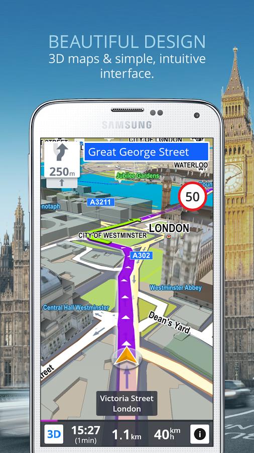 Sygic Offline GPS Navigation 70% Off For A Limited Time [Sponsored Post]