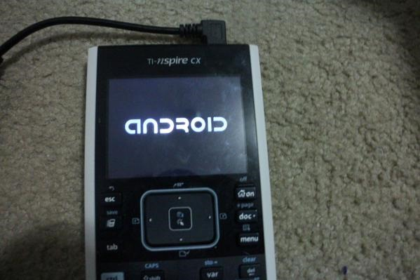 Someone Got Android 1 6 Running On A Texas Instruments