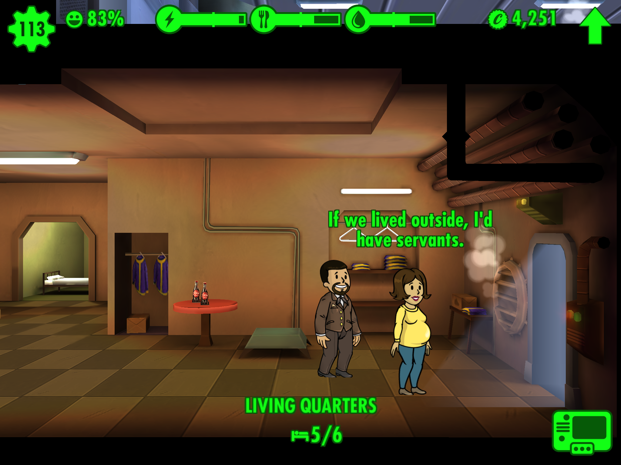 game review fallout shelter is a beautiful truly free game but