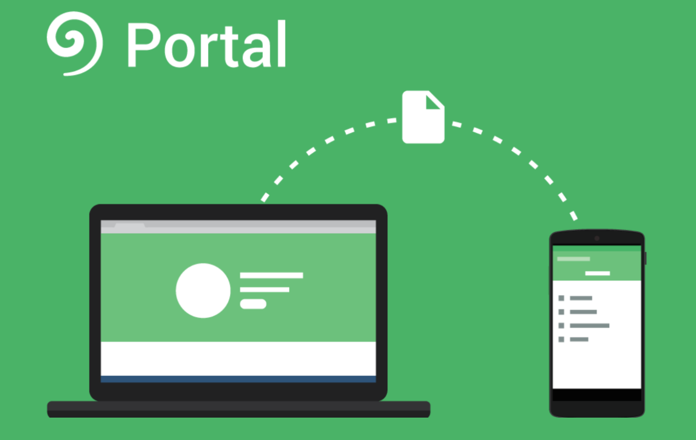 pushbullet introduces portal a new app for easy file sharing between your android device and pc. Black Bedroom Furniture Sets. Home Design Ideas