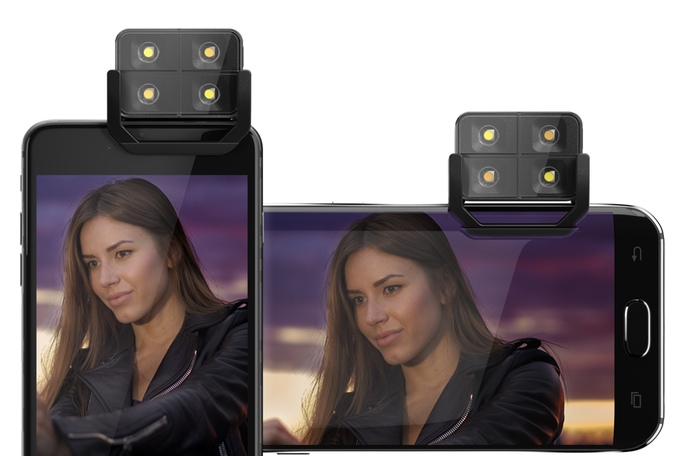 The iblazr 2 Is A Bluetooth Flash For Your Android Phone's Camera, Already Funded On Kickstarter