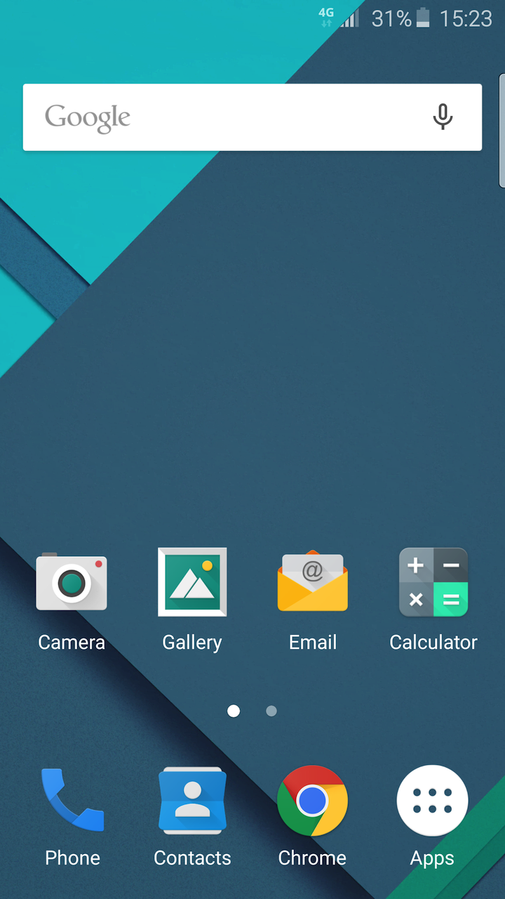 Material Theme Available For The Samsung Galaxy S6 And S6 Edge