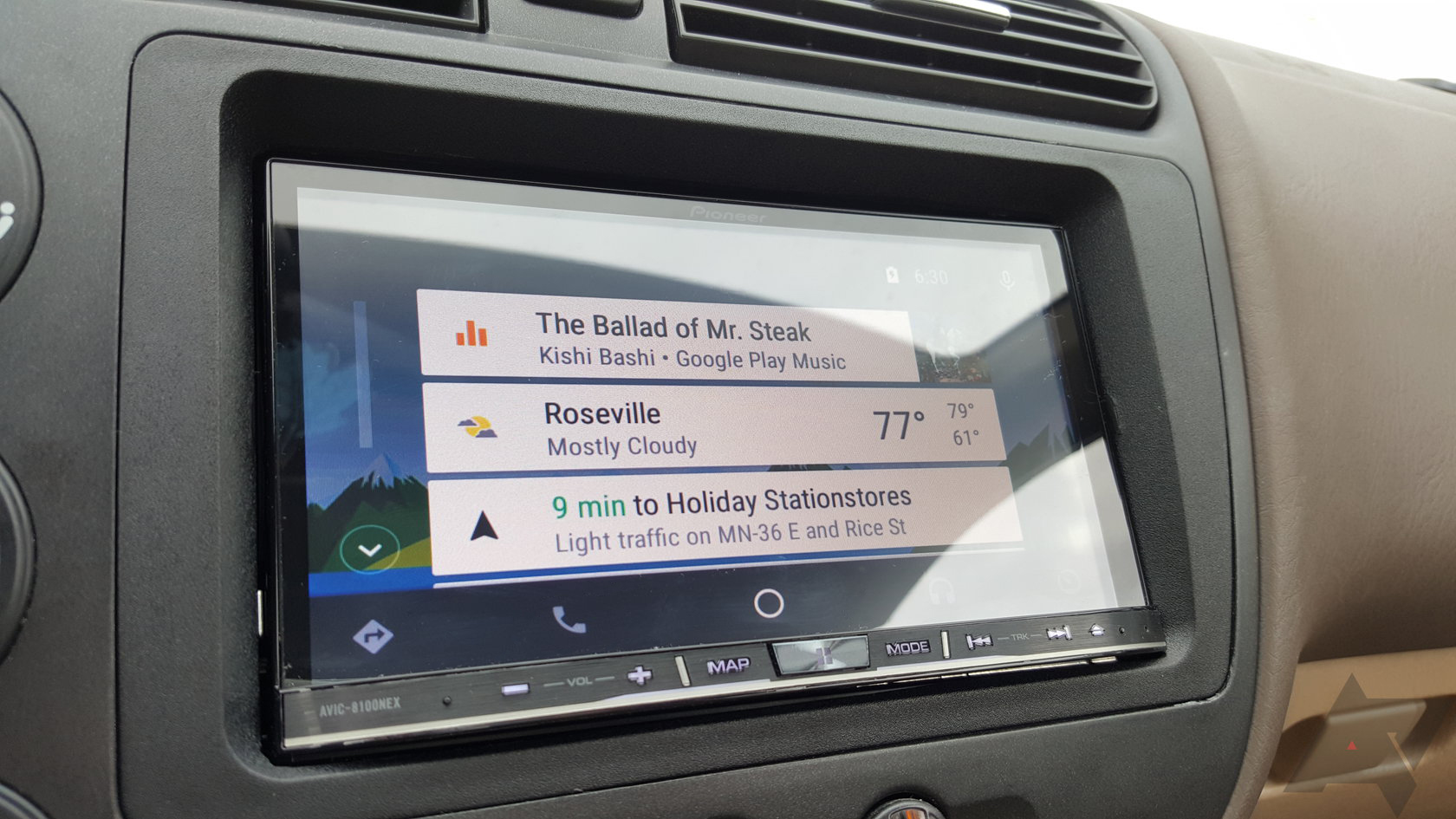 how to use android auto in mzd