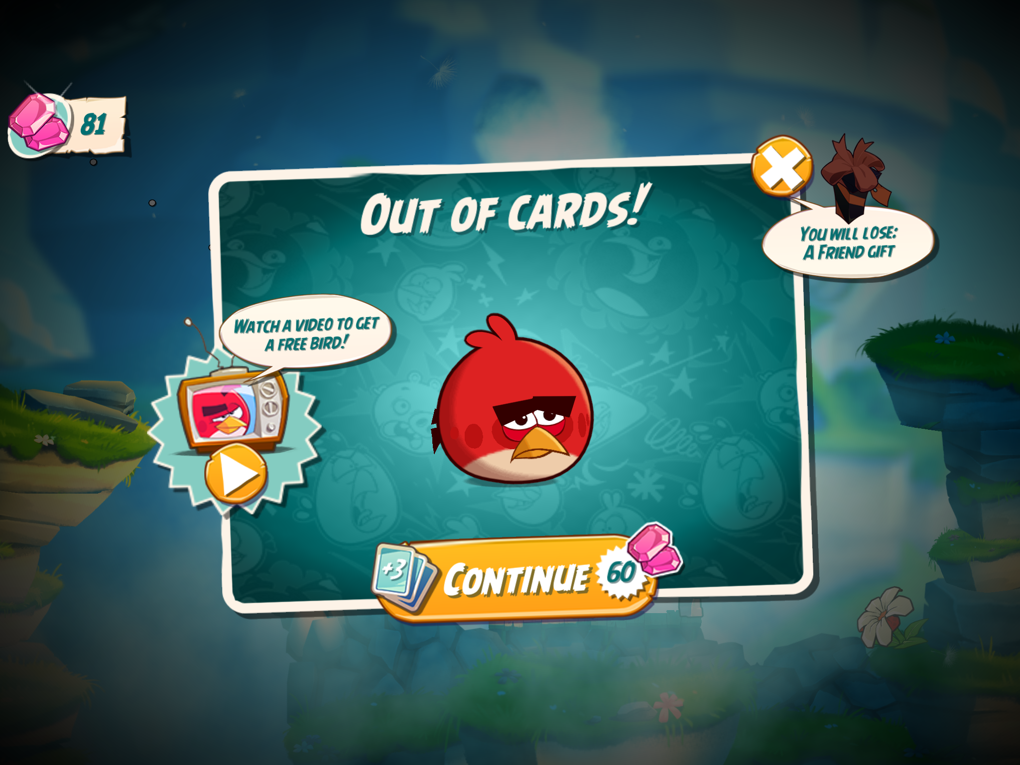 Angry birds 2 lands in the play store sits perched atop a mountain android police altavistaventures Images