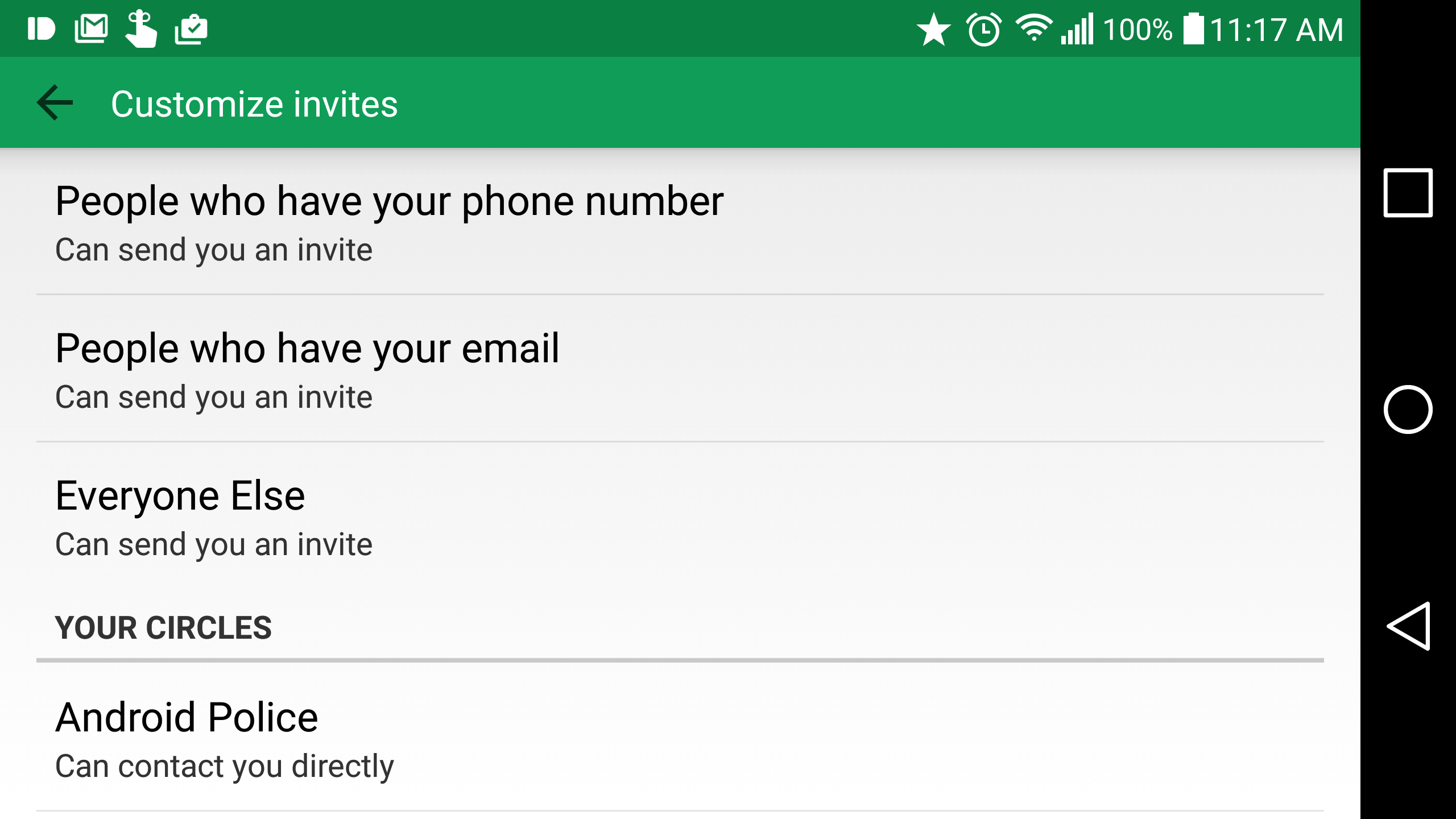 Google is rolling out new custom invitation options in hangouts but letting you know when someone new is trying to contact you is not one of them google is rolling out several new invitation options to hangouts stopboris Image collections