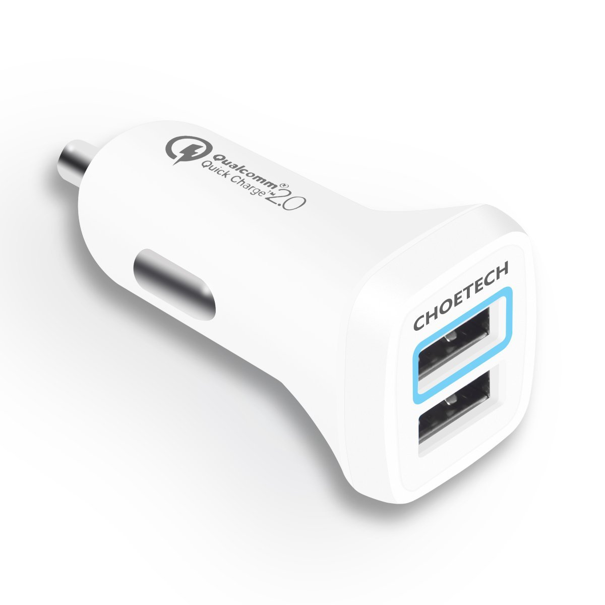 [Deal Alert] Grab A CHOETECH 2-Port Quick-Charge 2.0 Car Charger For $10.50 On Amazon After $5.50 Off Coupon