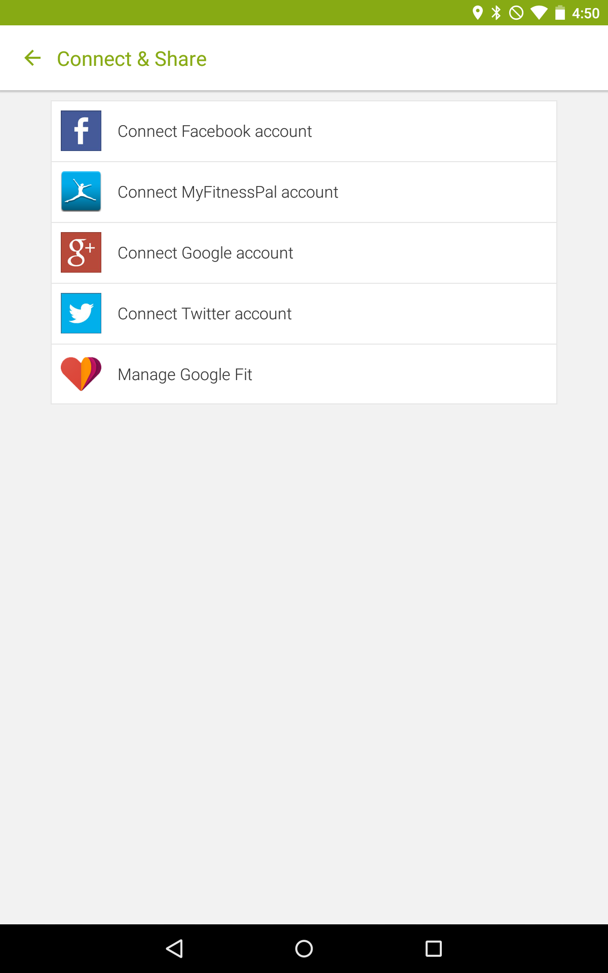 Endomondo Update Brings MyFitnessPal And Google Fit Integration