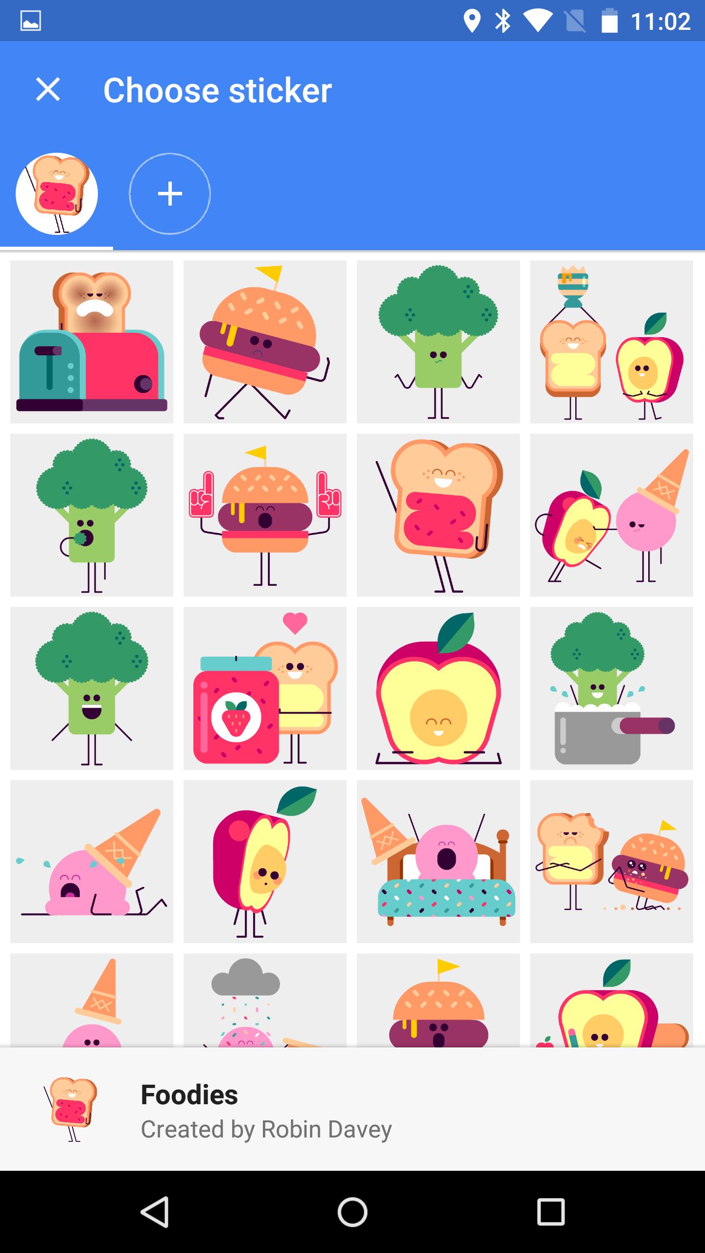 APK Download] Google Messenger v1 4 Adds Location Sharing, Stickers
