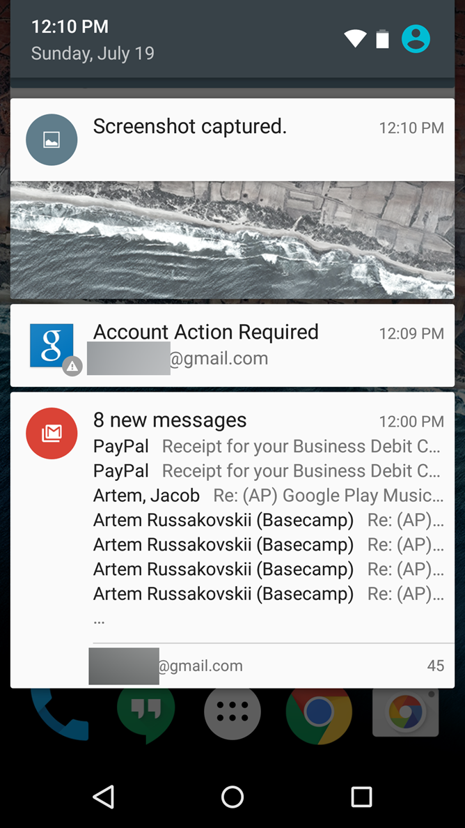 Android M Feature Spotlight] Demo Mode Hides Notifications