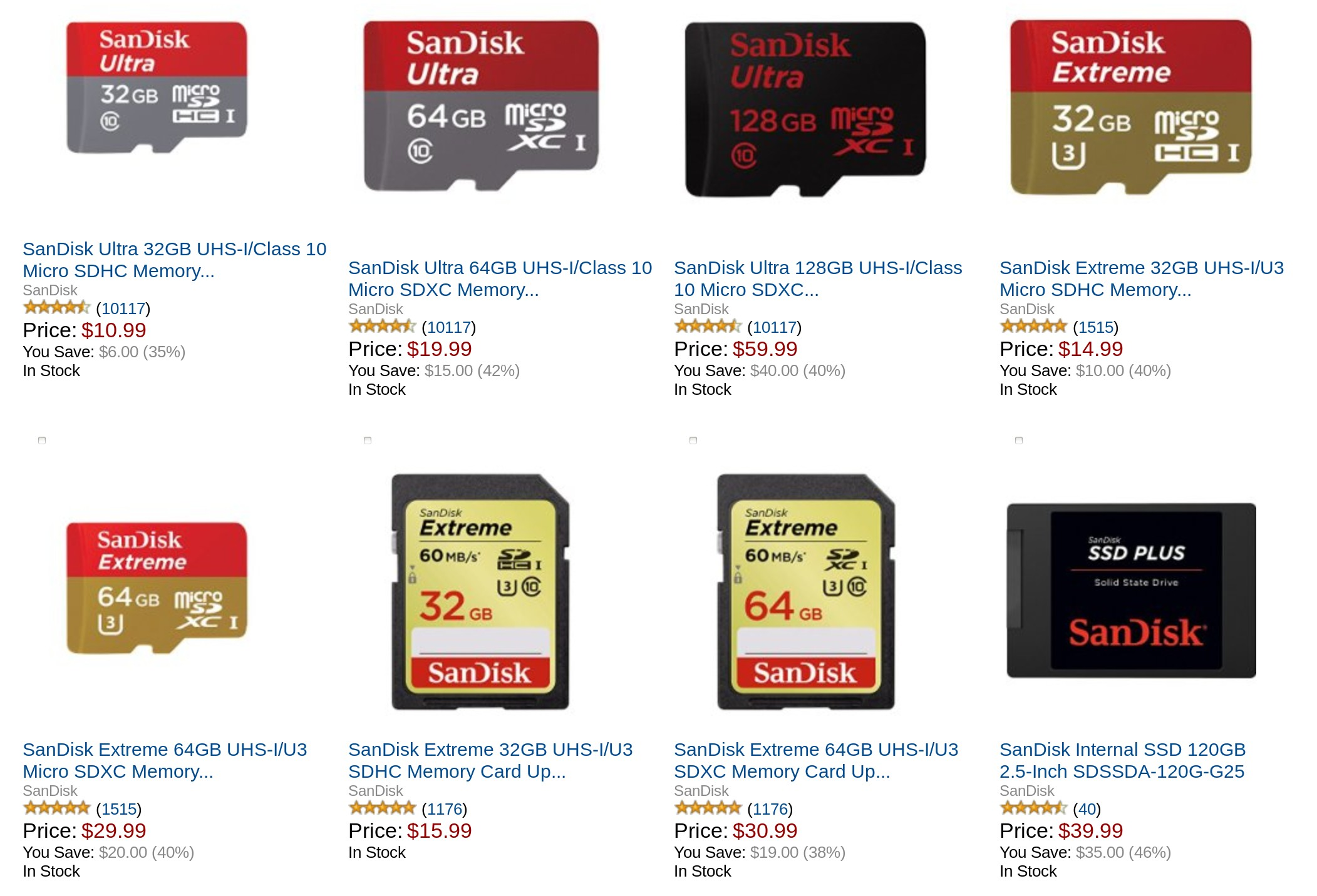 Deal Alert Sandisk Microsd Cards Otg Sticks And Other Flash Memory Steeply Discounted For Todays Amazon Gold Box Deal on transfer card to amazon