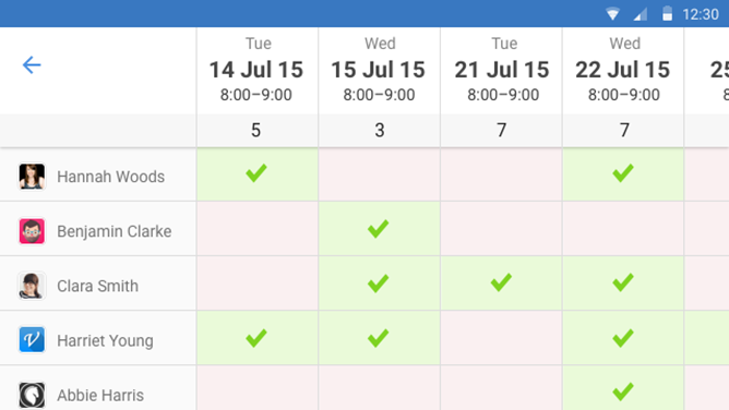popular web scheduling service doodle releases its official android app