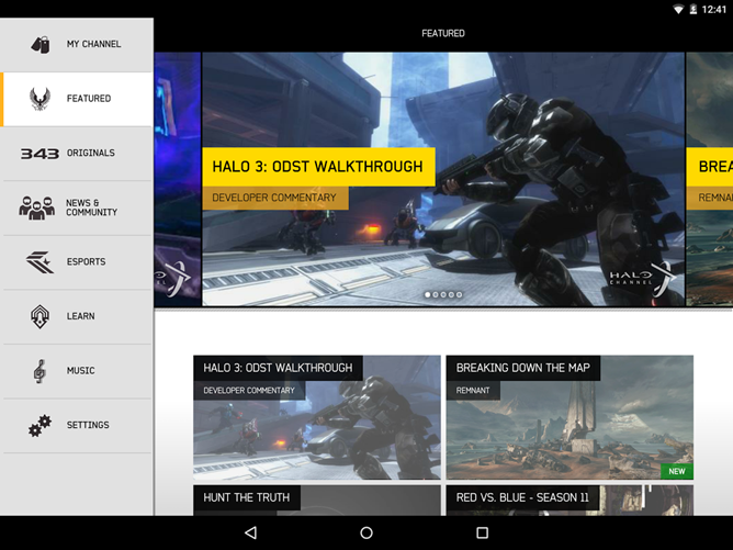 Microsoft Brings The Official Halo Channel App To Google