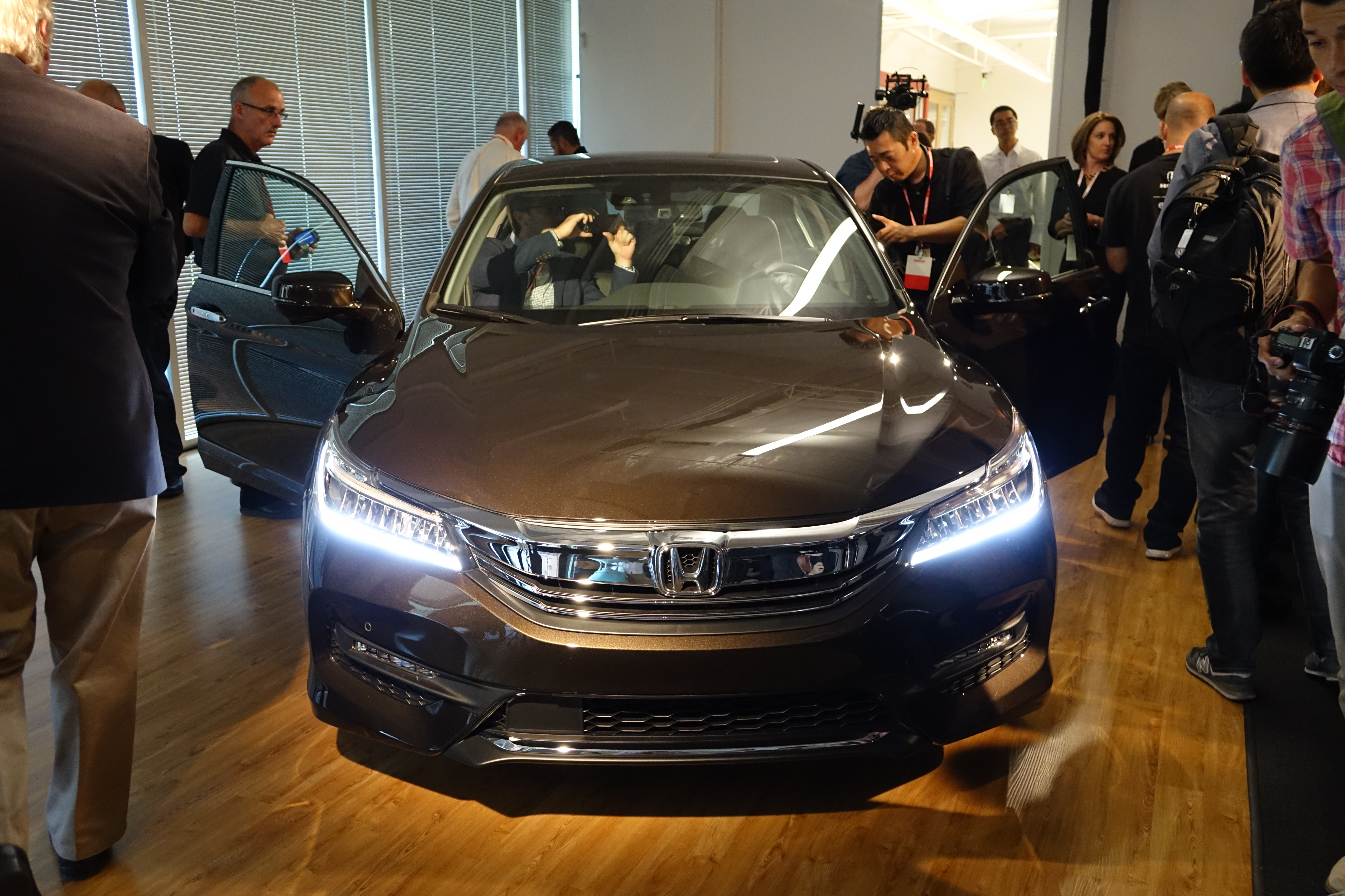 Image The 2016 Accord Is Second Model To Use Hondas