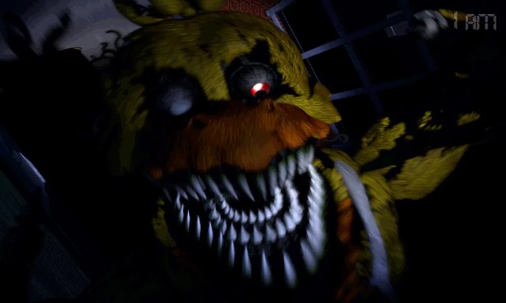 Five nights at freddys freddy jump scare