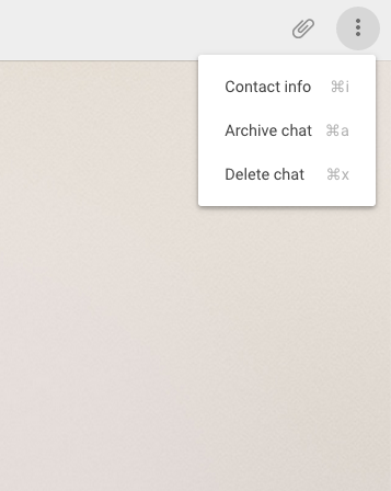 WhatsApp Web Already Us Lets Delete and Archive Chats