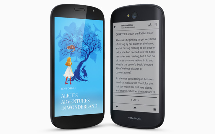Secondary E-Ink Display Retains Presence on YotaPhone 2 Successor