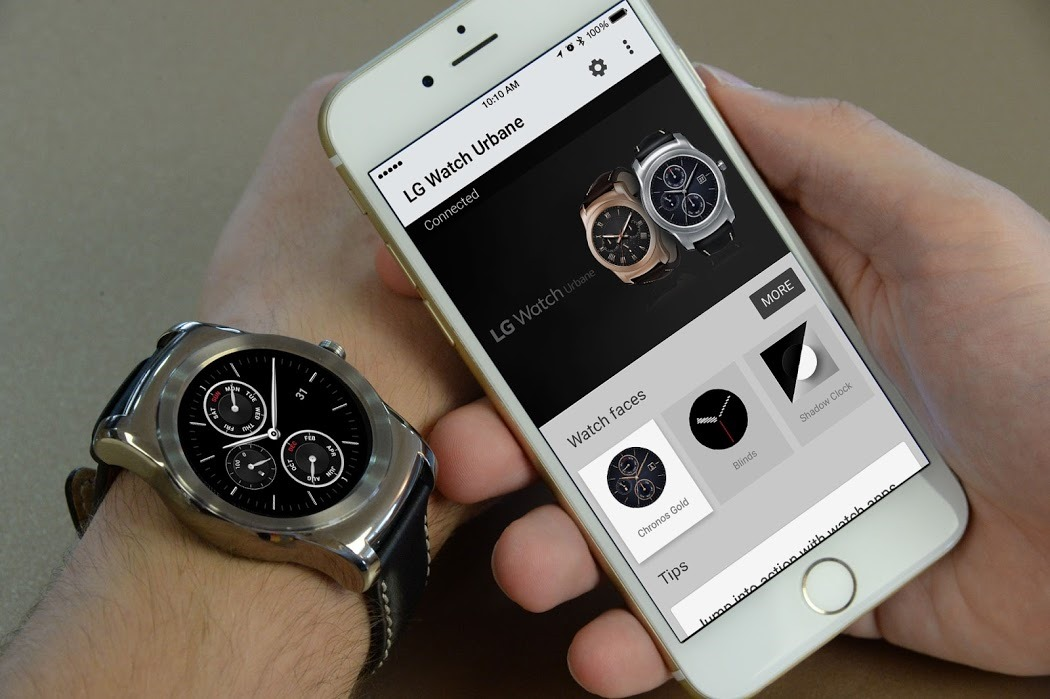 Android Wear For iOS Is Official, Launching Today With The LG Watch Urbane For Most iPhones With iOS 8.2+