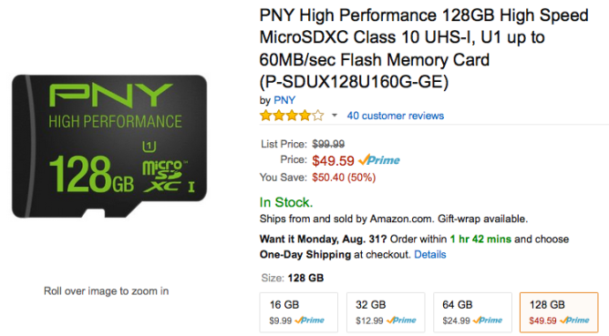 Amazon_com__PNY_High_Performance_128GB_High_Speed_MicroSDXC_Class_10_UHS-I__U1_up_to_60MB_sec_Flash_Memory_Card__P-SDUX128U160G-GE___Computers___Accessories