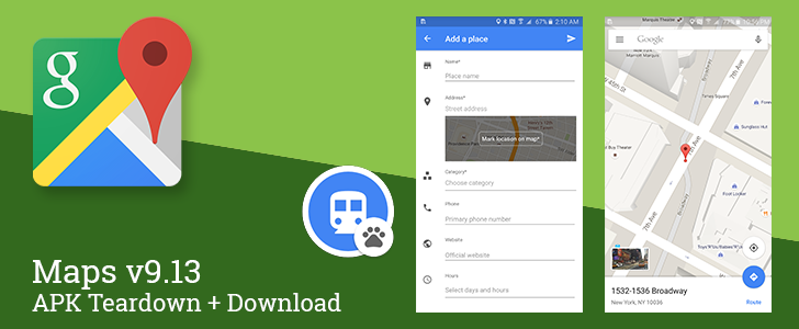 Maps v9.13 Rolls Out With Street View Thumbnails And A Shortcut To Add Businesses, Likely To Integrate India's Transit System Soon [APK Teardown + Download]