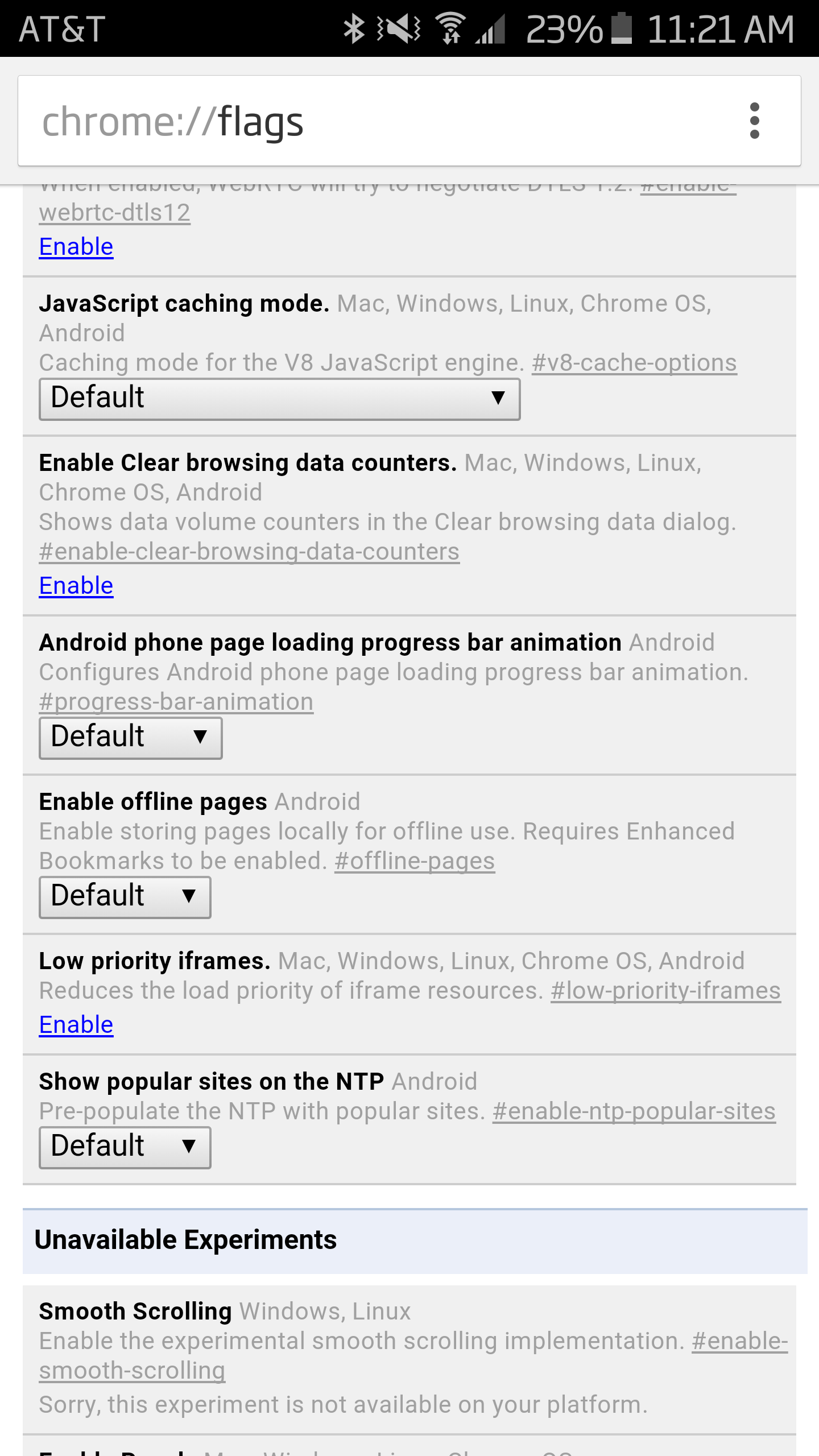 Chrome Dev v46 Includes New Flag For A Smoother Page Loading