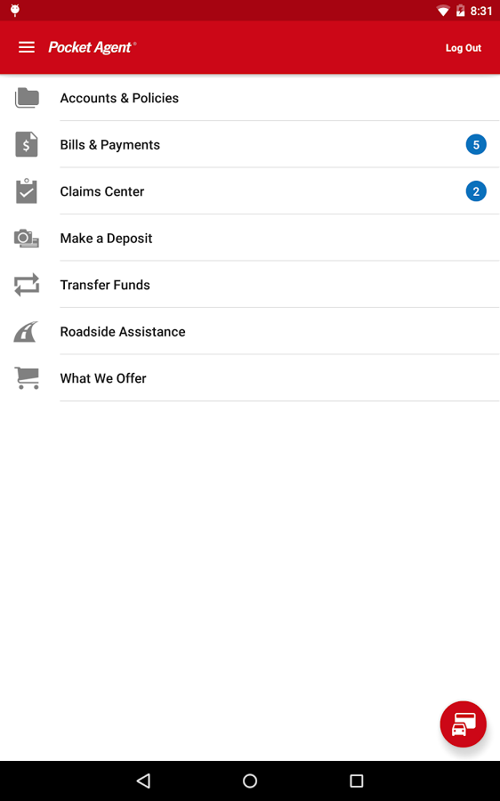 State Farm's Pocket Agent Android App Goes Material In