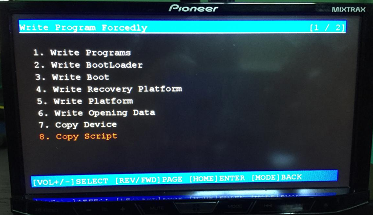 Modders Can Now Boot Custom ROMs From The SD Card Reader On Pioneer Android Auto Head Units