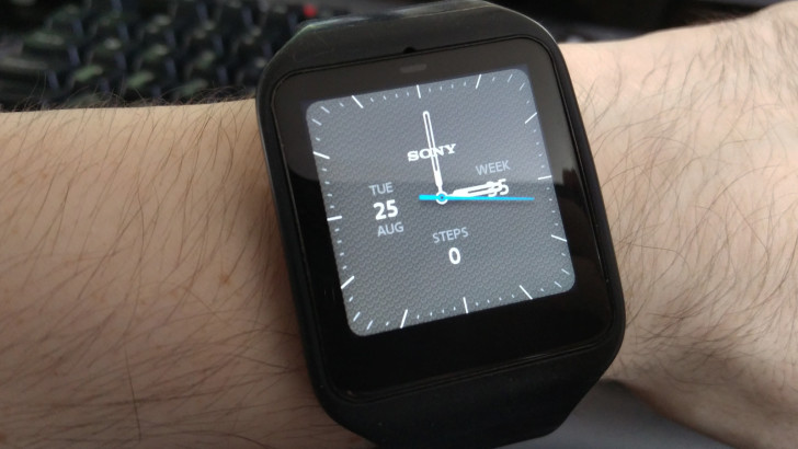 Sony Releases Smartwatch 3 Watch Face App In The Play Store