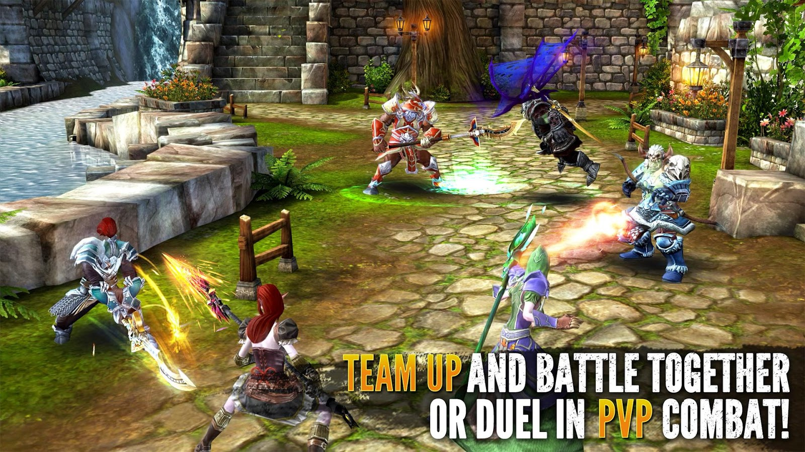 Gameloft's Order & Chaos 2 Is An Open World MMORPG Where ...