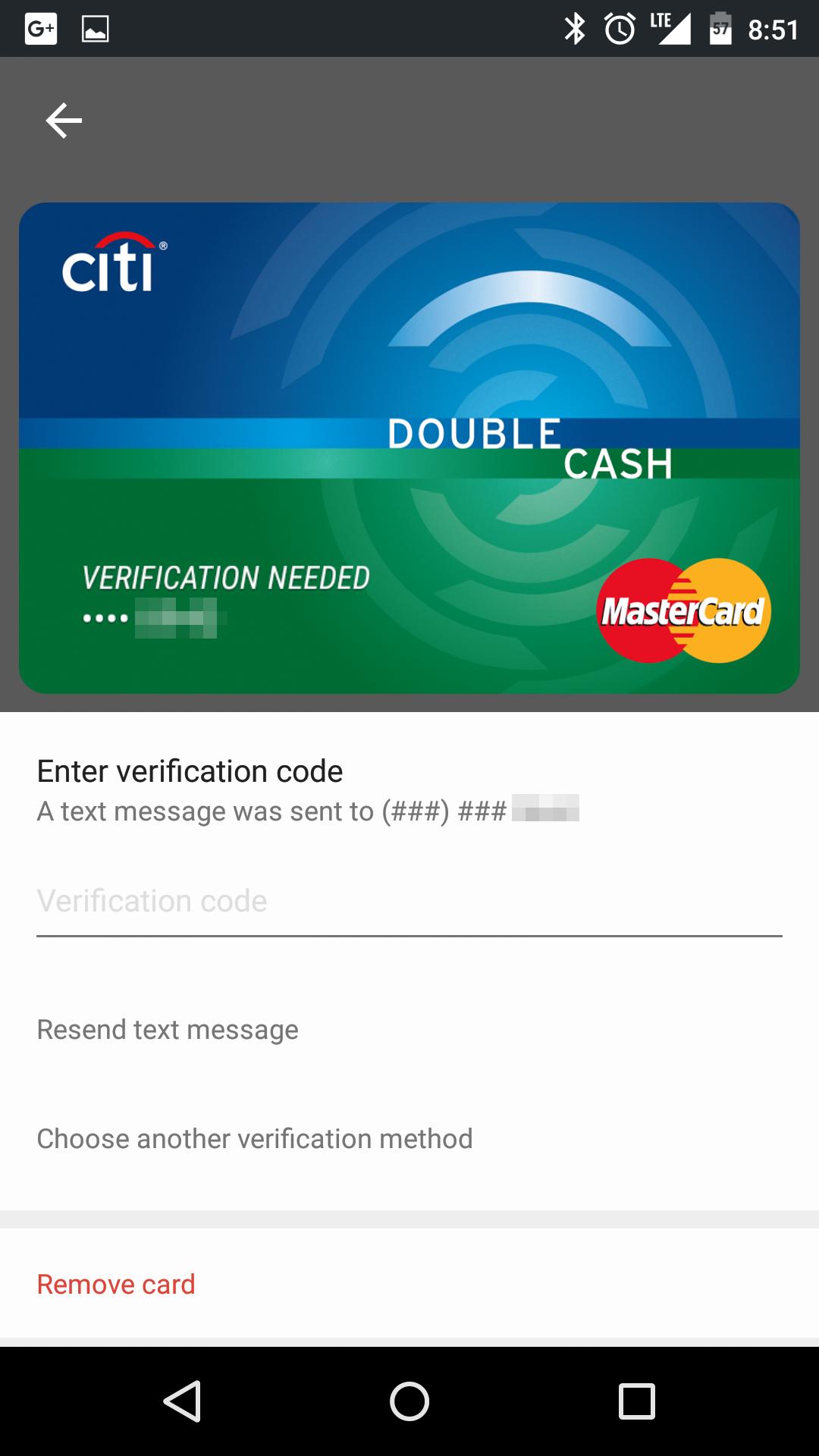 citi card payment