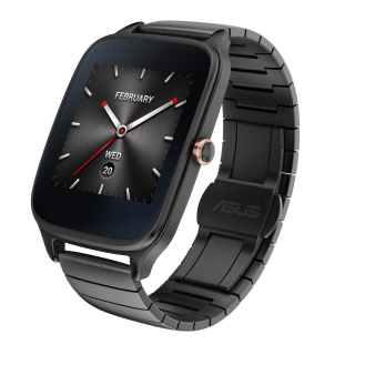 ASUS ZenWatch 2_Gunmetal_Metalic