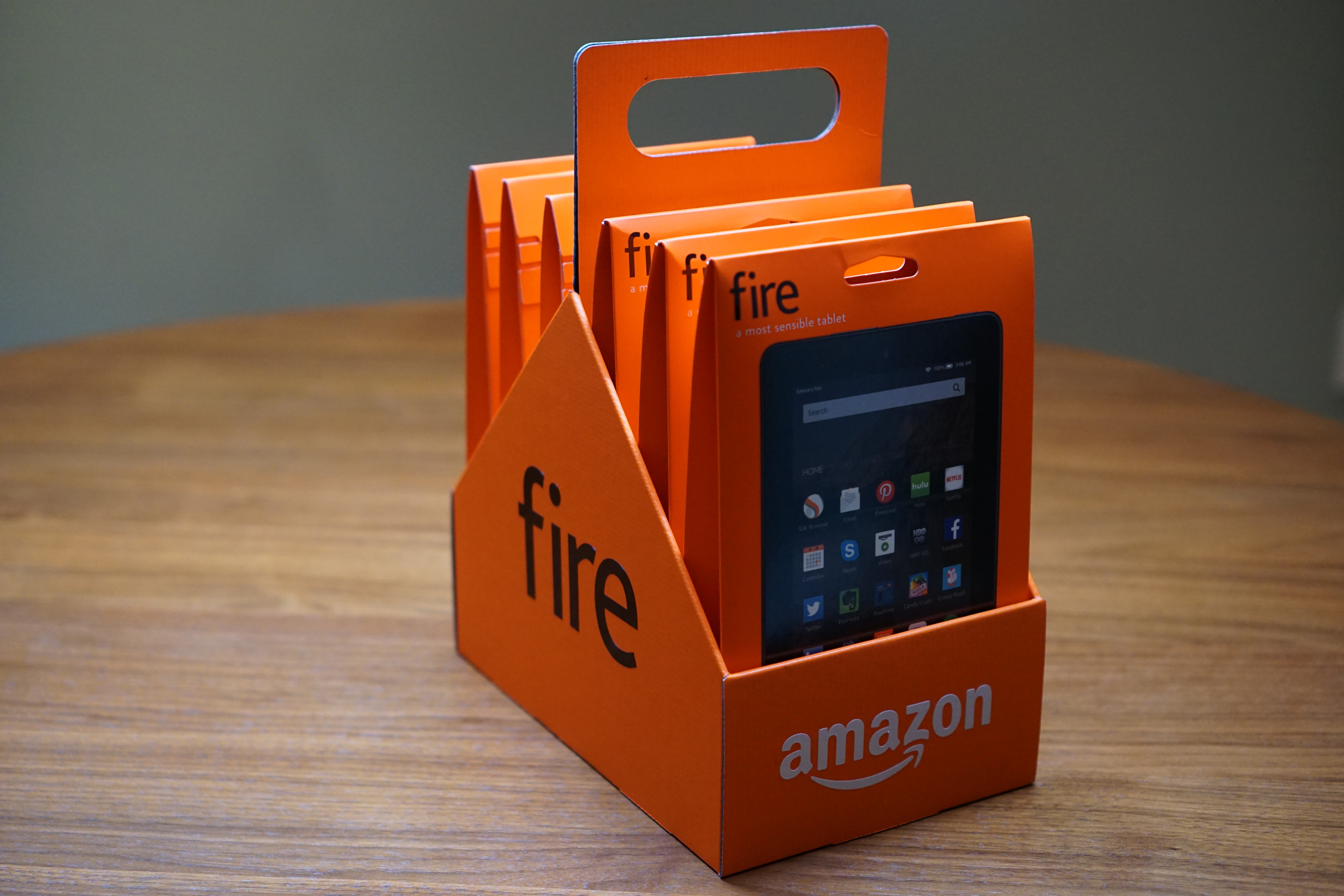 Amazon Announces Its New $50 Fire Tablet (With $250 6-Pack