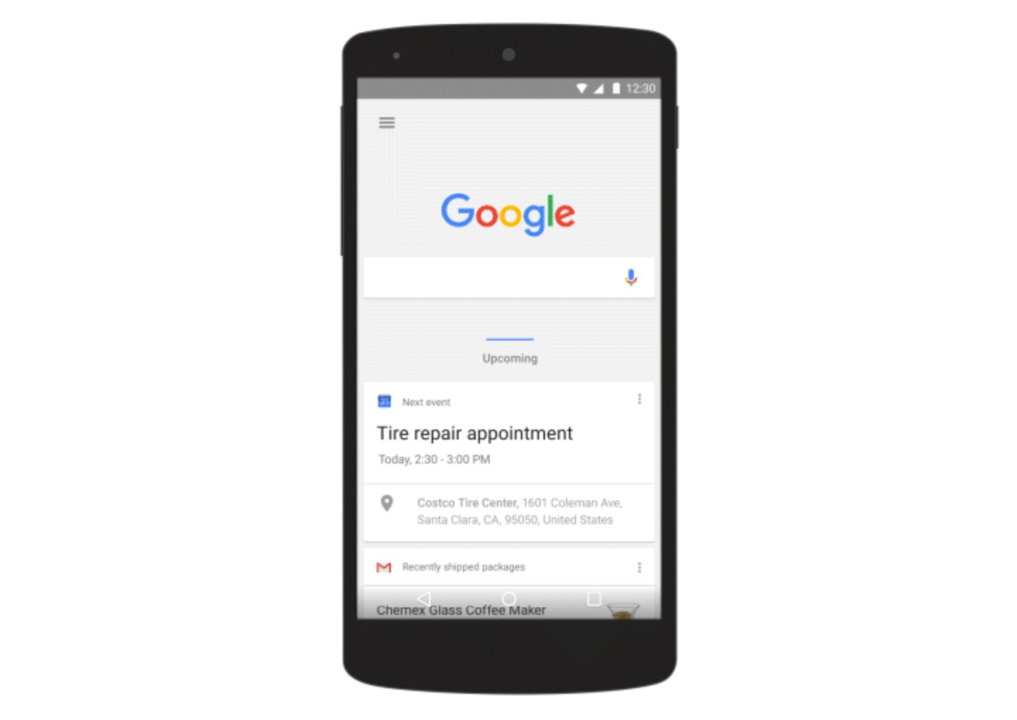 Google S New Design Language Makes Its Way To Android S Search Bar Google Now And The Mobile Web Video