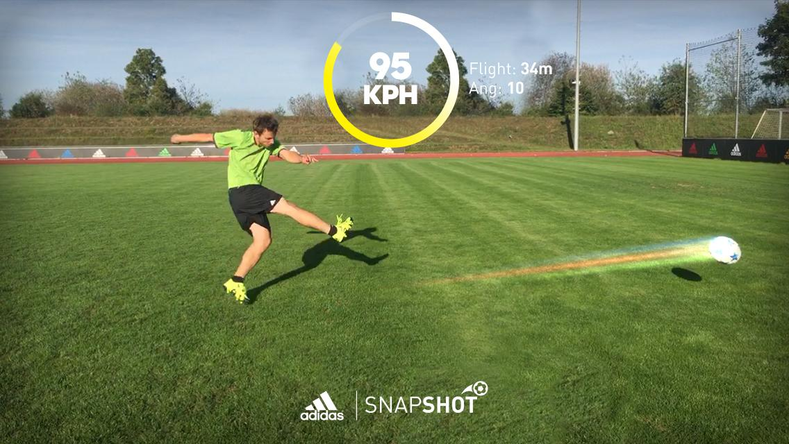 Adidas Snapshot App Can Tell How Hard And Fast You Kick A