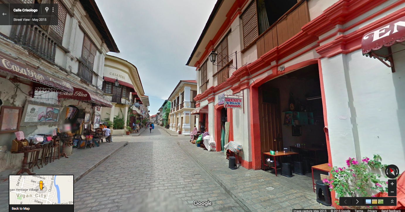 google street view takes a camera on a journey through the philippines. Black Bedroom Furniture Sets. Home Design Ideas