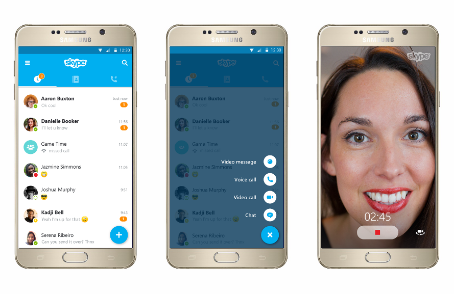 [Update: APK] Skype For Android Hits Version 6.0, Gets A Full Material Makeover