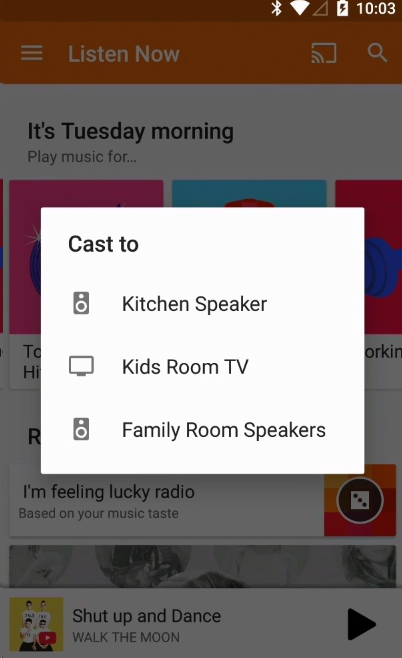 how to connect chromecast to new wifi network