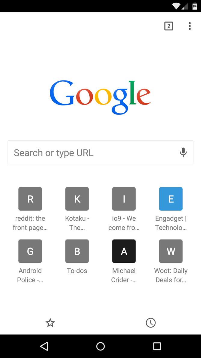 Many Chrome For Android Stable Users Are Now Seeing The Eight-Icon