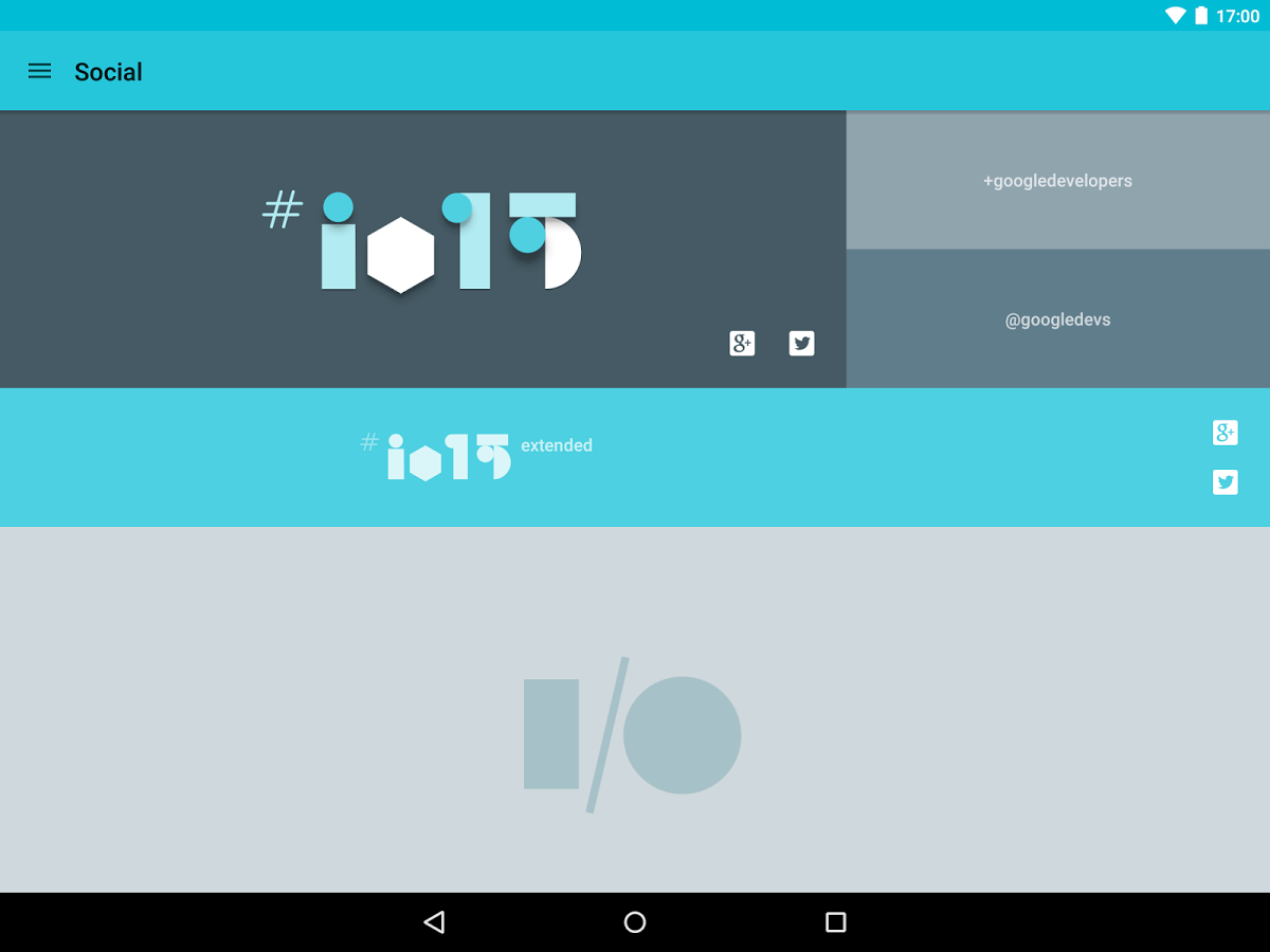 Google I/O 2015 App's Source Code Hits GitHub To Inspire And