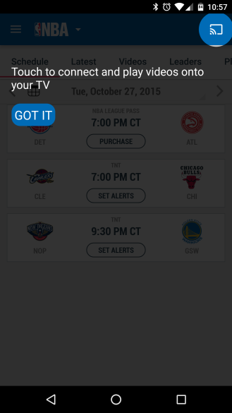 NBA GameTime App Completely Redesigned For The 2015-2016 ...