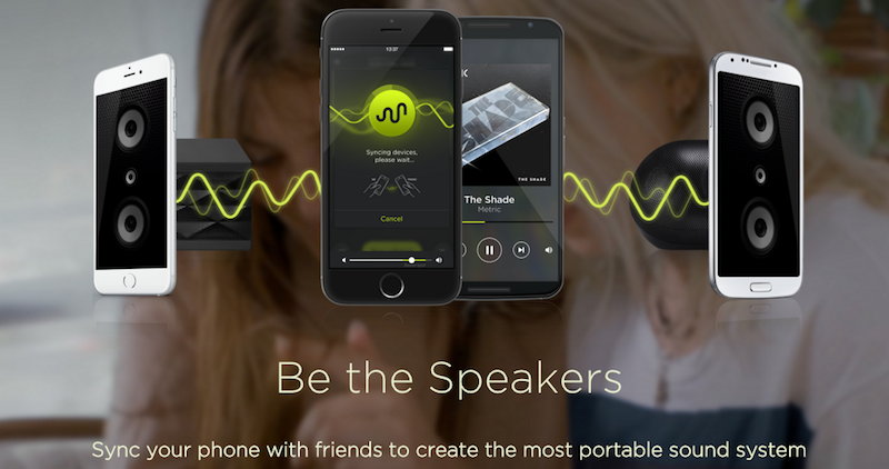 AmpMe Turns Multiple Phones Into Speakers For Your Music: How It