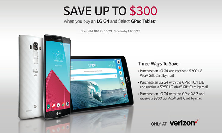 [Deal Alert] Verizon And LG Offer Up To $400 Off The G4 ...