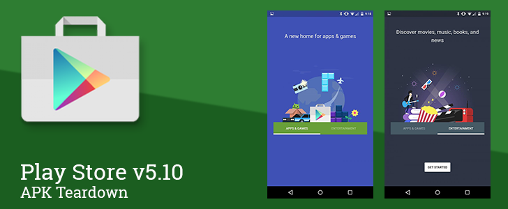 Play Store v5.10: Support For Books Listed By Series, More Visible App Sizes, And More [APK Teardown]