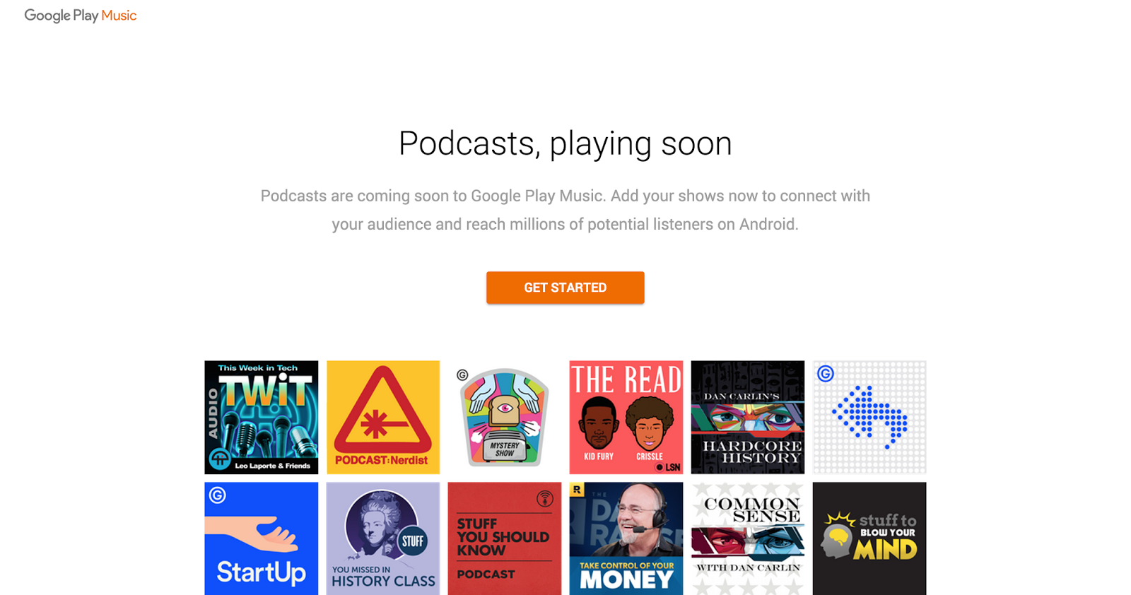 Podcasts Are Coming To Google Play Music Soon Podcasters Can Start Uploading Now