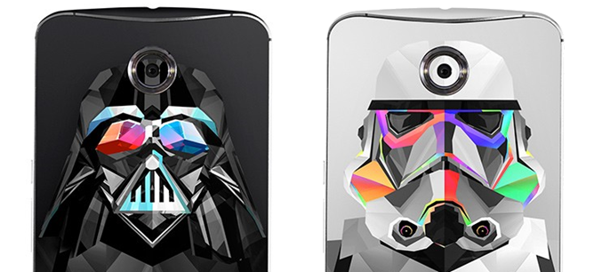 Slickwraps Gets Its Dark Side On With The Star Wars-Themed Galactic Series For Samsung, LG, Nexus, And HTC Flagships