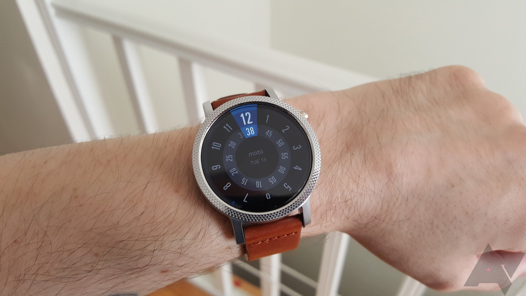 Android Wear - Magazine cover