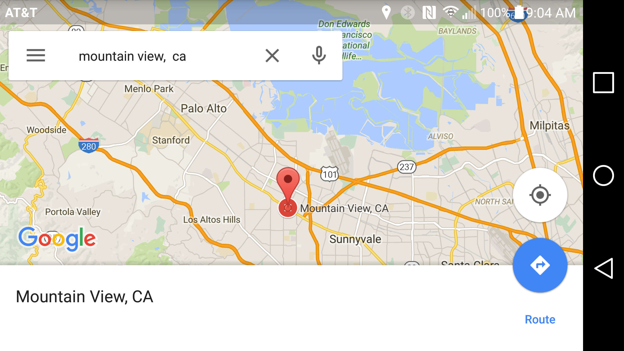 Google Officially Releases Offline Navigation And Search In Maps - Google maps entire us
